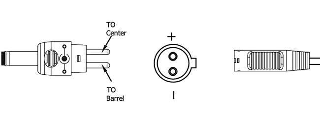 T00 Changeable Output Plug System For Power Supplies