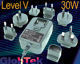 Green Power Supplies Meet Efficiency Level V Requirements 30W