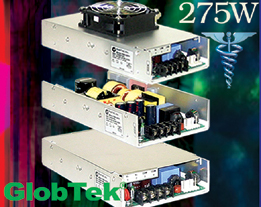 Medical Approved Power Supplies up to 275 Watts
