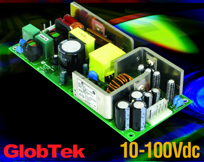 Power Supply has 2nd Variable Output 10-100Vdc, Meets Medical / ITE Applications Up To 50W